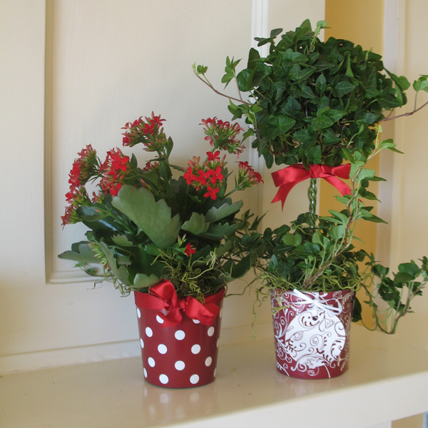 Cathyswraps Blog Archive How To Make Easy Centerpieces